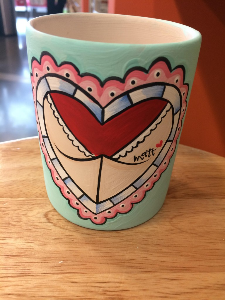 custom tattoo cup