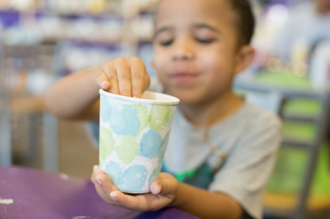 Painted Snack Cups | As You Wish Pottery