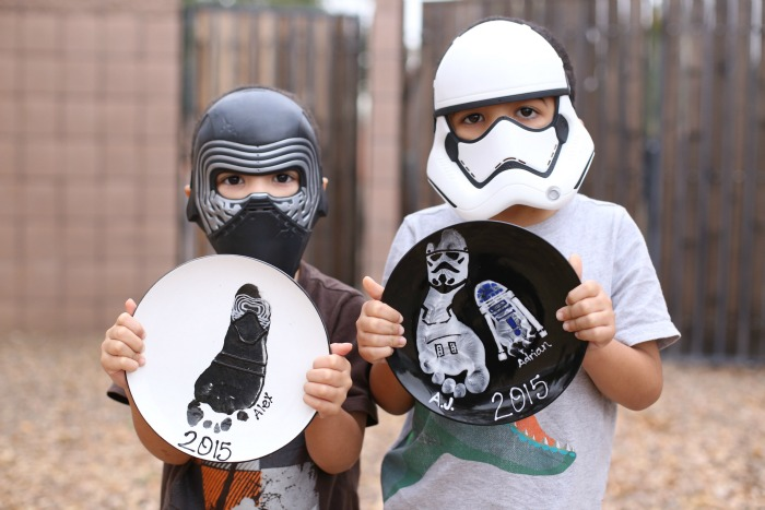 Star Wars Inspired Footprints   As You Wish Pottery
