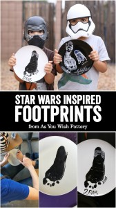 Star Wars Inspired Footprints | As You Wish Pottery