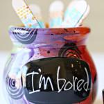 Summer I'm Bored Jar for Kids