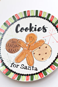 Chocolate Chip Coconut Cookies for Santa