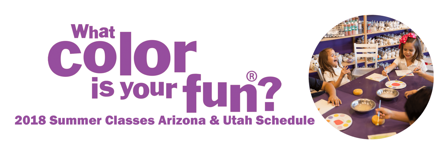 Kids Summer Art Classes | As You Wish Pottery