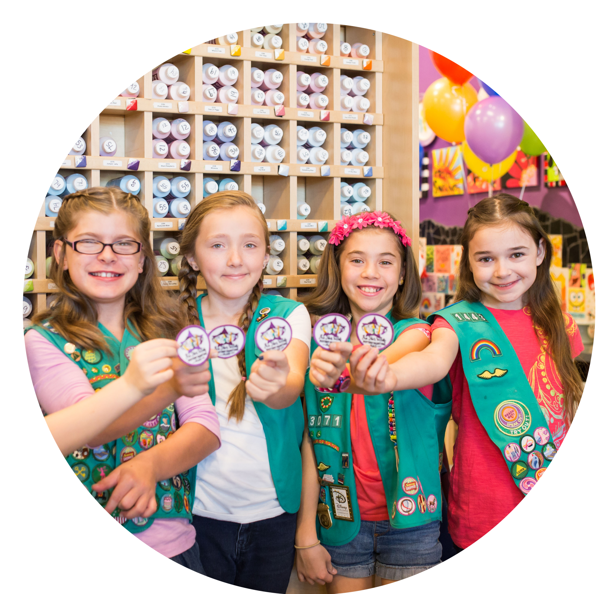 Team Building For Junior Girl Scouts
