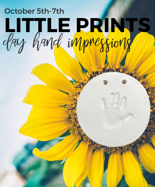 10 5 7 little prints clay hand impressions as you wish pottery